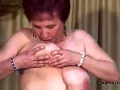 Strip De Coroa Granny Madura Mature 5