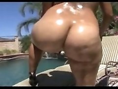 Phat Booty Latina Challenging A Big Black Dick