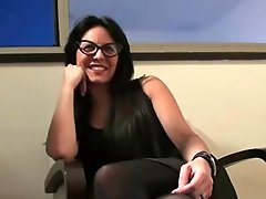 Hot Colombian Milf In Stockings Mmf Threesome