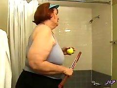Granny Likes Tennis Play