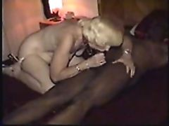 Mature wanda ties up black gent