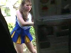 Ginger Jones Mature BBW Cheerleader