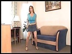 Busty Babe Masturbating BVR