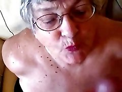 Old Granny Loves To Suck Young Cocks