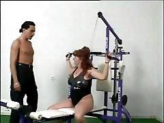 Grannie in Gym