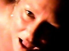 Bbw Blonde Eats Cum In This Cellphone Video