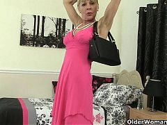 British MILF Penny Fucks Her Moist Pussy With A Dildo