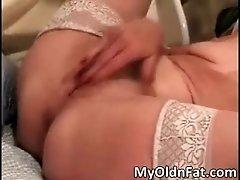 Nasty Blonde Mature Slut Gets Her Cunt Banged Hardcore