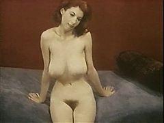 MRS ROBINSON vintage nylons stockings striptease big boobs