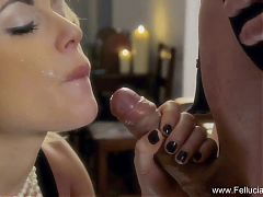 Beautiful Gorgeous MILF Blows For Fun