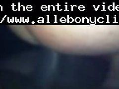 Back Shot Black Ebony Cumshots Ebony Swallow Interracia