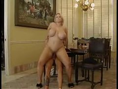 Blonde Mature With Huge Melons Fucked