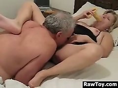 Mature Couple Having Fun In Bed