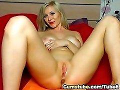 Gorgeous Blue Eyed Blonde Hottie