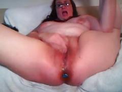 Mature masturbing cam