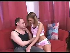 Z44B 542 Russian Teen Amatuer 1st Shoot Pink Top