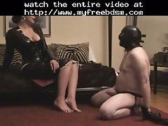 Wank Control BDSM Bondage Slave Femdom Domination