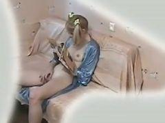 NOT my Stepdaughter Filmed Masturbating !