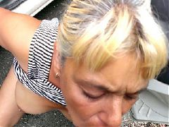 Amateur mature slut and her old cunt