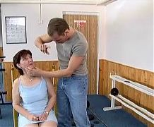 Mature mom gets fucked by young cock