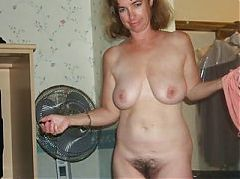 Mom has 12 cocks cum in her pussy