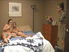 Husband makes video of wife and stepson