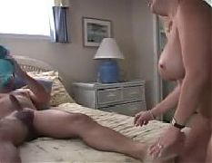 Blonde mom fuck