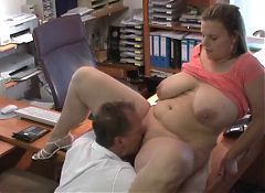Mature couple fit his 68